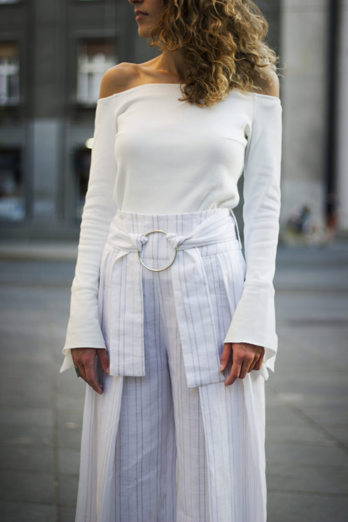 GO MONOCHROME If you're looking for an elevated option, this is it. A look in a same tone makes the whole monochrome thing effortless—just pair it with understated shoes in a matching palette.